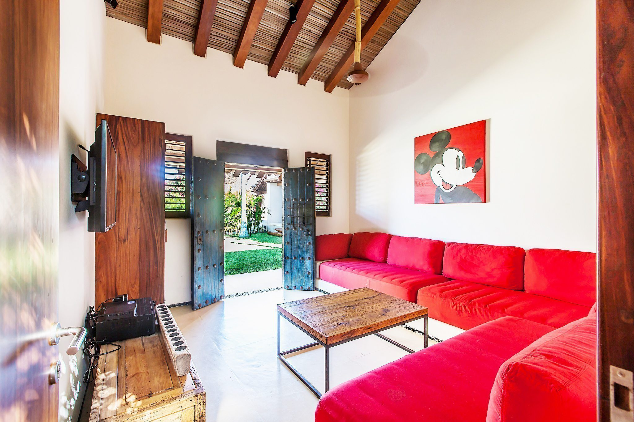 Garden Apartment Living Area